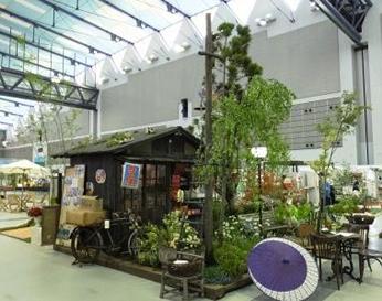 ガーデン&エクステリア希望の芽2015 in 夢メッセ